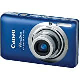 Canon, Model: ELPH 100 HS, Canon PowerShot ELPH 100 HS 12 MP CMOS Digital Camera with 4X Optical Zoom (Blue)