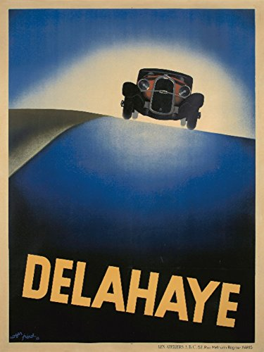 delahaye-vintage-poster-artist-perot-france-c-1932-24x36-collectible-giclee-gallery-print-wall-decor