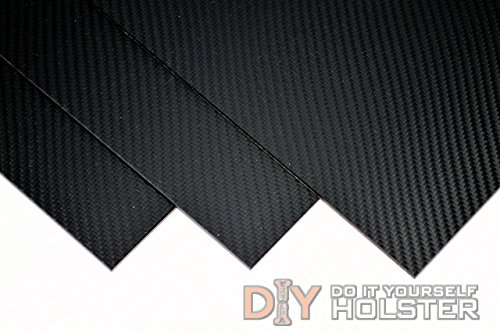 "Best Price Carbon Fiber Pattern Thermoform Sheet - Two 8""x12"" .080"" Thick Sheets"