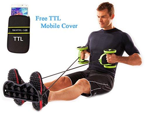 Evana (Get Free TTL Mobile Cover With Revoflex) Ab Care Xtreme Fitness Revoflex Xtreme Resistance Exerciser Resistance Tube Ab Slimmer