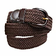 Luxury Divas Brown Braided Elastic St…