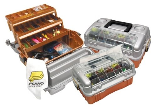 Plano 7603 flip sider three tray tackle box for Jewelry stores plano tx