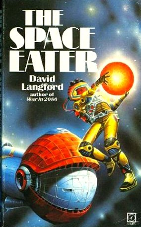 The Space Eater, David Langford