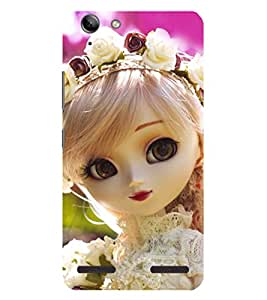 Evaluze attractive girl Printed Back Case Cover for LENOVO VIBE K5