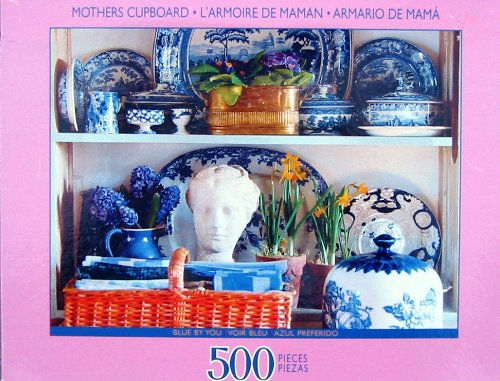 Mothers Cupboard Blue By You 500pc. Puzzle