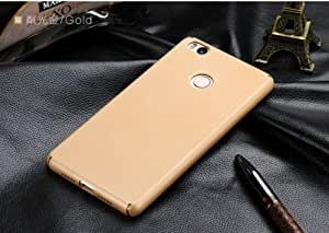 "CASECART Luxury *360 Degree* Frosted Matte Hard Back Cover For Xiaomi Mi Max 6.44"" - GOLD ..."