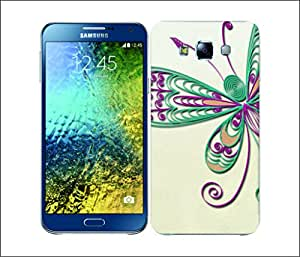 Galaxy Printed 2654 Quilling Butterfly Hard Cover for Samsung A3