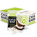 Health Warrior Chia Bars, Coconut, 13.2-Ounce (Pack of 15)