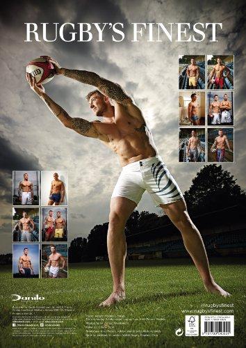 Official Rugby's Finest Hunks 2014 Calendar (Calendars 2014)