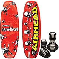 Kwik Tek Airhead Bonehead II Wakeboard with Grab Youth Binding, 124cm from Kwik Tek
