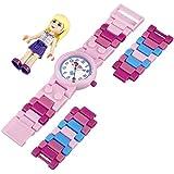 LEGO Kids' 9001024 LEGO Friends Stephanie Plastic Watch with Link Bracelet and Figurine