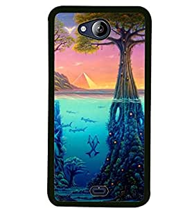 Printed Designer Back Covers for Micromax Canvas Play 2 Q 355 By Carla store.