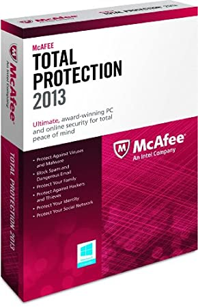 McAfee Total Protection 1PC 2013