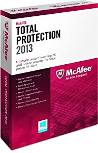 McAfeeTotal Protection 3PCs 2013