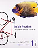 img - for Inside Reading 1 Student Book Pack: The Academic Word List in Context by Arline Burgmeier, Cheryl Boyd Zimmerman(December 7, 2007) Paperback book / textbook / text book