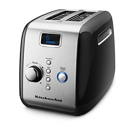 KitchenAid KMT223OB 2-Slice Toaster with One-Touch Lift/Lower and Digital Display - Onyx Black (Toast Oven Kitchenaid compare prices)