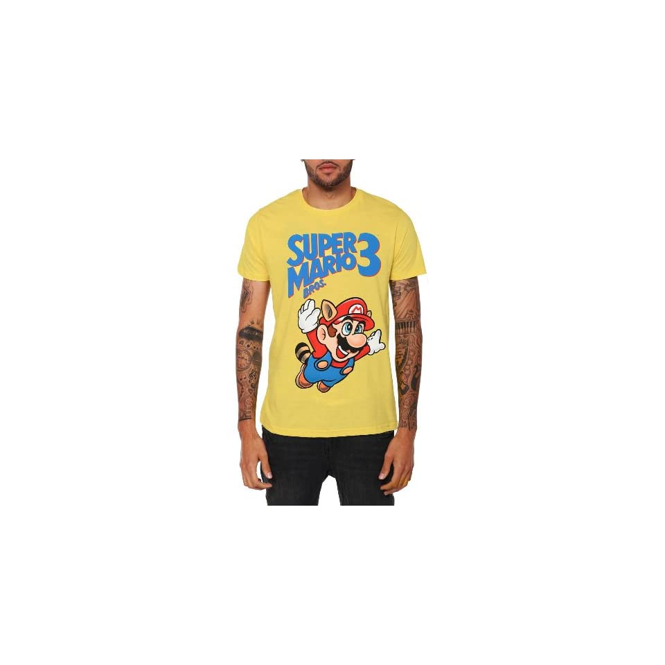 Nintendo Super Mario Bros. 3 Logo T Shirt 2XL Size  XX Large
