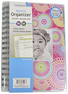 Plan Ahead Mom's 18 Months Planner, July 2013 - December 2014, Assorted Designs, Design May Vary, 1 Planner (85097)