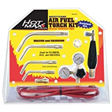Hot Max AFA-2 Air/Acetylene Torch Kit with Screw Connect Tips