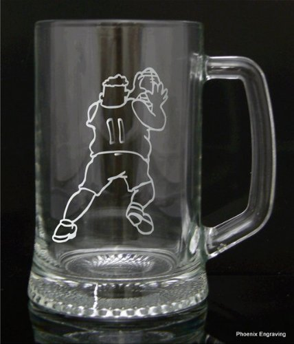 Barware Pint Glass Tankard Gift, Rugby, Luxury Gift Box Included