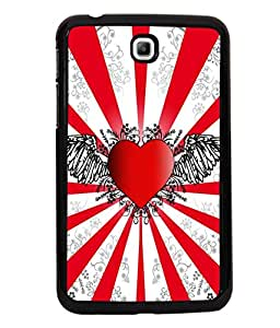 printtech Heart Wings Abstract Back Case Cover for Samsung Galaxy Tab 3 7.0 :: Samsung Galaxy Tab 3 T211 P3200