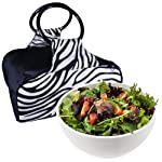 10 cup Chilled Serving Bowl with Insulated Travel Bag