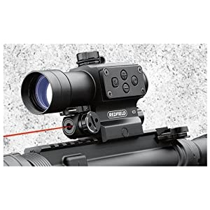 Redfield 117850 Counterstrike Red and Green Dot Sight with 4-MOA Aiming Point and... by Redfield