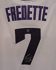 Jimmer Fredette Sacramento Kings Autographed White #7 Jersey by Sports-Autographs
