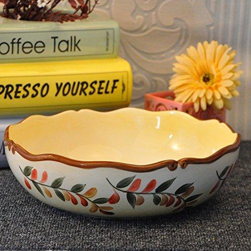 yifom-ceramic-hand-painted-underglaze-cream-soup-bowl-fruit-bowl