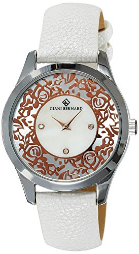 Giani Bernard Horus Analog Silver Dial Women's Watch - GBL-01F