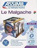echange, troc Solotiana Nirhy-Lanto Ramamonjisoa, Narivelo Rajaonarimanana - Le Malgache: livre + 4 CD audio + 1 CD mp3