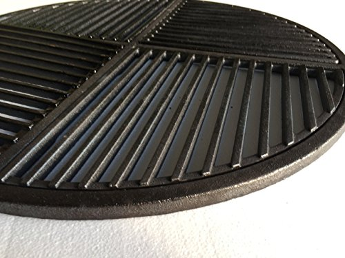 Cast Iron Grate, Pre Seasoned, Non Stick Cooking Surface, Modular  Fits 22.5