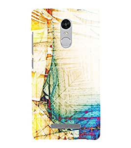 Modern Art Design with Ancient Touch Pattern 3D Hard Polycarbonate Designer Back Case Cover for Xiaomi Redmi Note 3 :: Xiaomi Redmi Note 3 (3rd Gen)