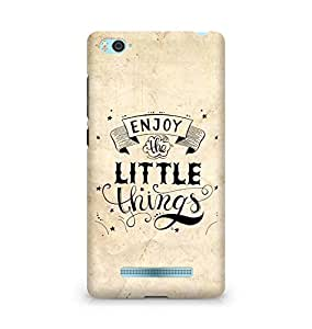 AMEZ enjoy the little things 2 Back Cover For Xiaomi Mi4i