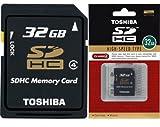 東芝 SDHC カード 32GB Class4 Toshiba SD-K32GR6W4 海外パッケージ品