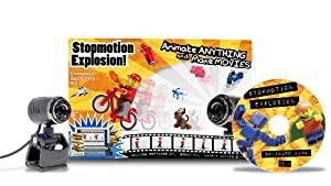 Stopmotion Explosion: Complete Stop Motion Animation Kit with Camera (Windows & OS X)