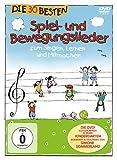DVD & Blu-ray - Die 30 besten Spiel- und Bewegungslieder - Die DVD - zum Singen, Lernen und Mitmachen