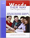 img - for Words Their Way with Struggling Readers: Word Study for Reading, Vocabulary, and Spelling Instruction, Grades 4 - 12 (Words Their Way Series) book / textbook / text book