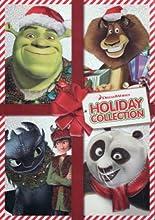 Dreamworks Holiday Collection - 4 Movie DVD Pack - Kung Fu Panda Holiday  Merry Madagascar  Shrek Th
