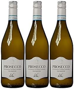Ca di Alte Prosecco Frizzante Non Vintage Wine 75 cl (Case of 3)