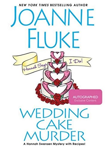 Joanne Fluke Wedding Cake Murder Exclusive Autographed / Signed Edition PDF