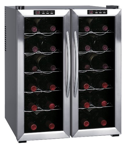 SPT WC-2461H Double-Door Dual-Zone Thermo-Electric Wine