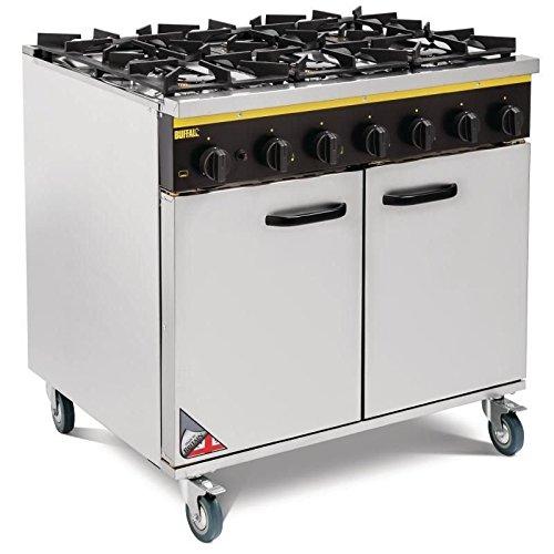 Heavy Duty 6 Burner Propane Gas LPG Oven Range /Commercial Kitchen Chef