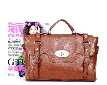 celebrity vintage leather tote messenger shoulder bag b010016 diaper bags babies. Black Bedroom Furniture Sets. Home Design Ideas
