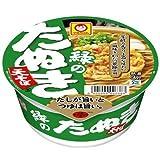 マルちゃん 緑のたぬき天そば(西) 96g×12個