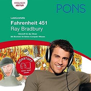 Fahrenheit 451 - Bradbury Lektürehilfe. PONS Lektürehilfe - Fahrenheit 451 - Ray Bradbury Audiobook