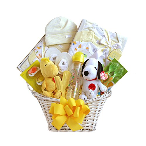 California Delicious Peanuts Baby Welcome Basket - 1