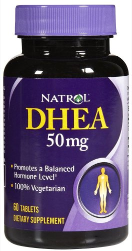 Natrol Dhea onglet 50mg 60 (Multi-Pack)