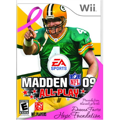 Madden NFL 09 Favre Hope Foundation Edition for Nintendo Wii