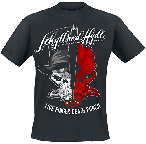 Five Finger Death Punch Jekyll And Hyde T-Shirt black
